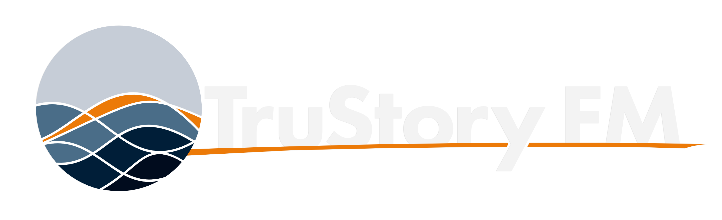 TruStory FM Badge — Color