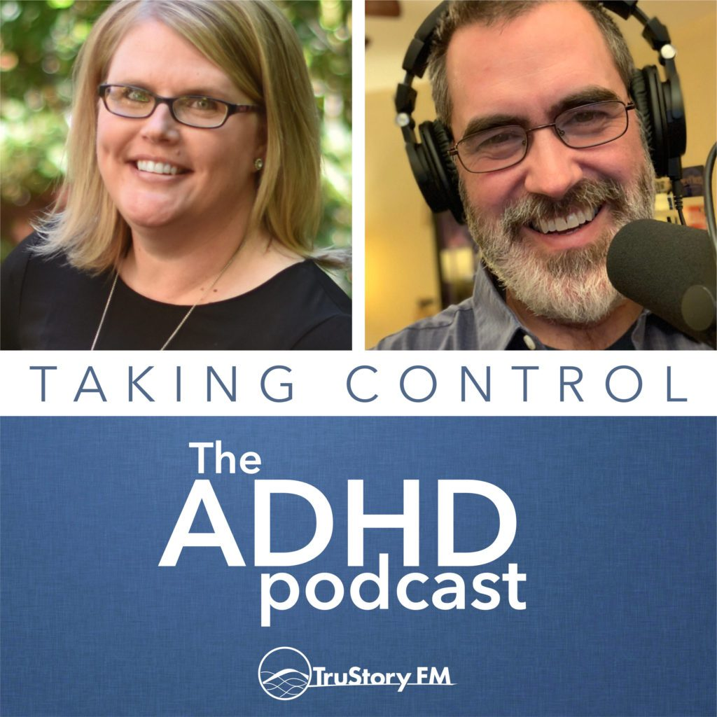 Taking Control The ADHD Podcast Logo